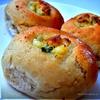 Закусочные гороховые булочки с сырной начинкой