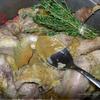 Фрикасе из кролика с тимьяном