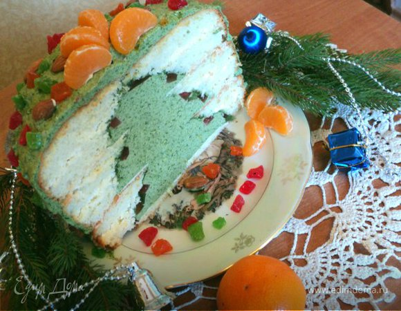 Торт «Новогодняя елка»