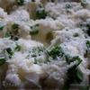 Цветная капуста с двумя видами сыра