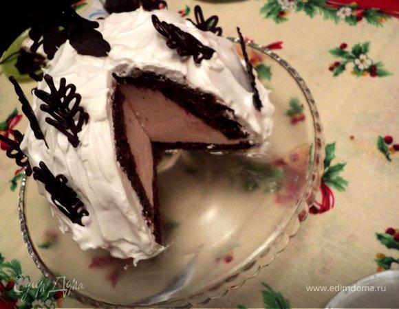 Торт «Зимний лес»
