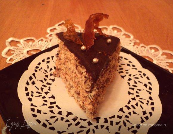 Торт «Янтарный цветок»
