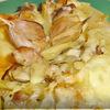 Свинина с картофелем и тыквой.