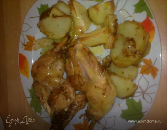 Курица в сногошибательном маринаде