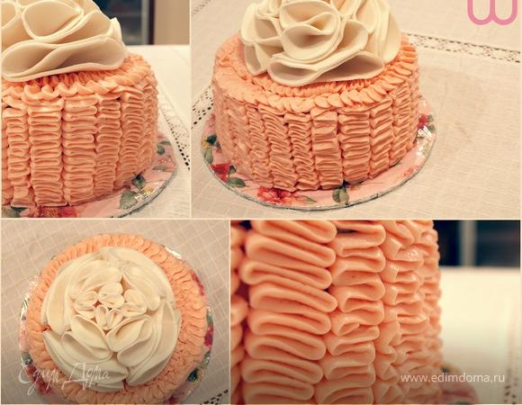Рюшевый Торт