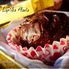 Вишневые бисквитные конфеты в шоколаде