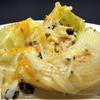Лумакони пикантные с хумусом, шпинатом и моцареллой