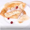 Блинчики с бананом в карамельном соусе
