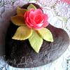 Шоколадно-клубничные кексы или Торт
