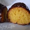 Лимонный кекс с кукурузной мукой