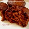 Шоколадно-апельсиновые маффины (постные)