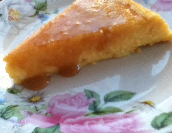 Перевернутый Медовый Чизкейк Без Муки (Upside-down Honey Cheesecake)