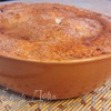Великолепный закрытый яблочный пирог с заварным кремом