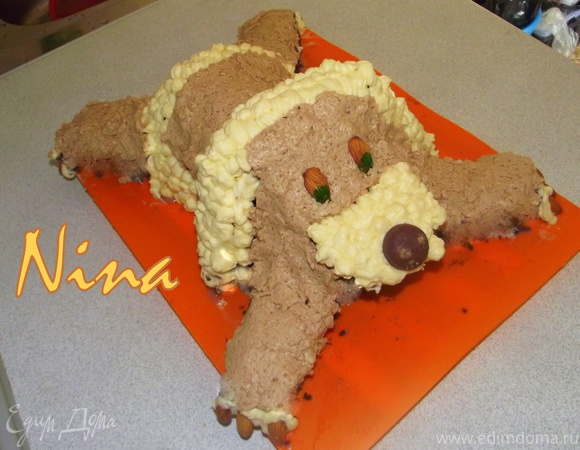 """Торт """"Верный друг"""""""