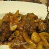 Мини-котлетки в томатном соусе с розмарином и грибами