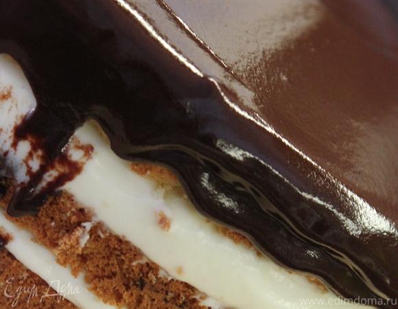 Бостонский кремовый торт (Boston cream pie)