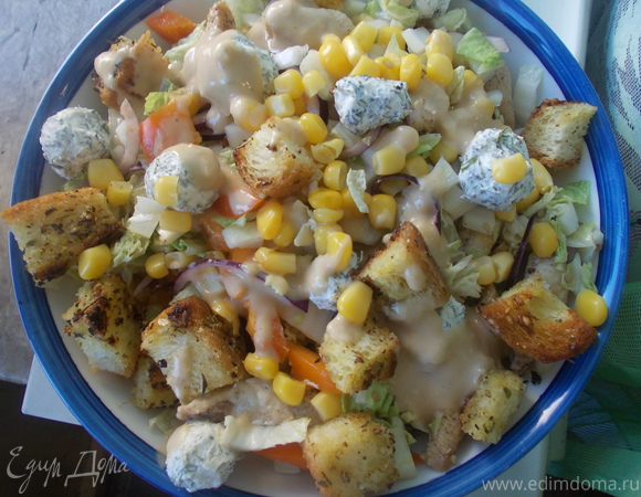 Весенний и аппетитный салат