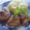 Зразы с яично-сырной начинкой