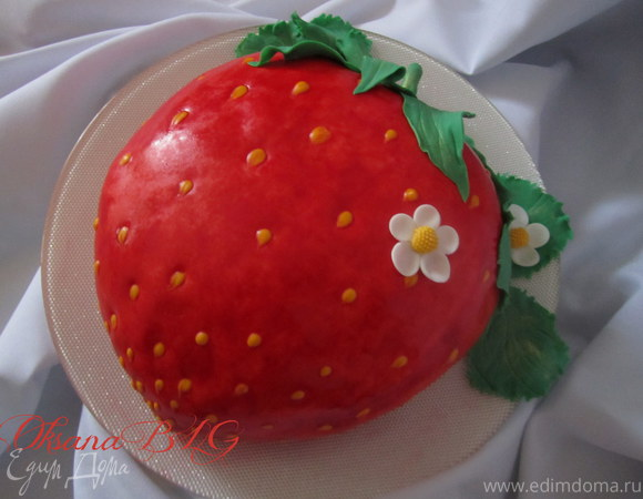 """Торт """"Клубничка"""""""