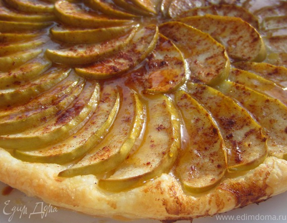 Яблочный пирог от Юлии Высоцкой