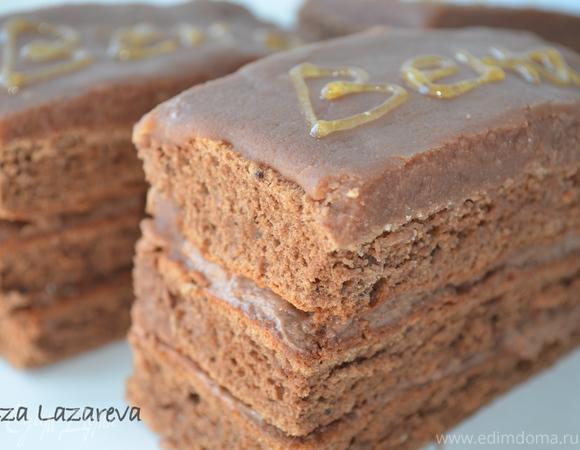"""Австрийское шоколадное пирожное """"Вена"""""""