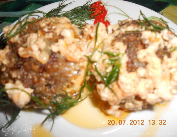 Гречневые тефтели в сливочно-томатном соусе