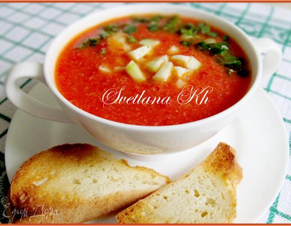 суп гаспачо рецепт от высоцкой