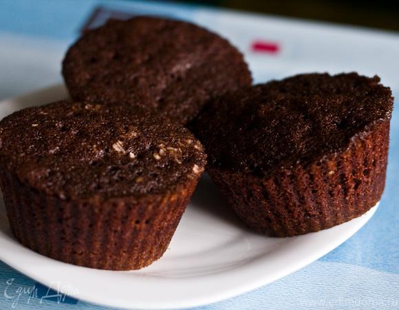 Как сделать шоколадные кексы в микроволновке