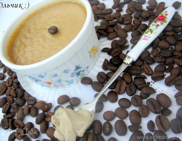 Кофейно-ванильный крем