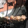 Свиная шейка в пикантном маринаде на углях