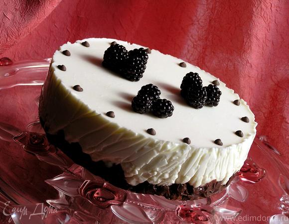 """""""Седьмая свадьба"""" или """"Творожно-зефирный торт с вишней"""""""