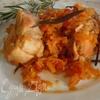 Тушеный кролик с розмарином с двумя вариантами соуса