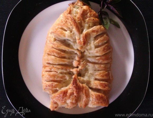 """""""Ленивый"""" стромболи - итальянский сэндвич"""