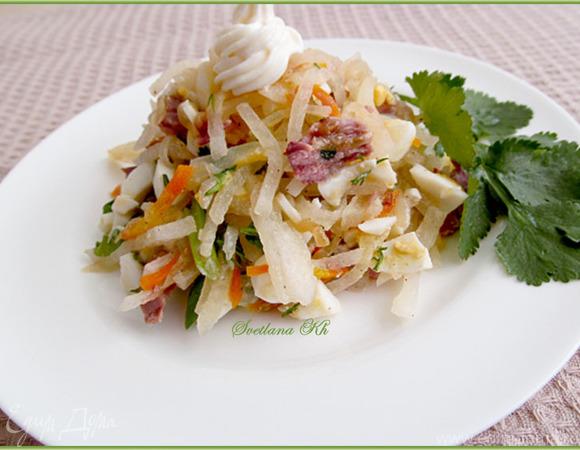 салат ташкент рецепт в урюке