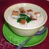 Суп-пюре из цветной капусты со сливками и сыром