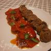 мясные рулетики с болгарским перцем