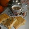 Печенье из пшенной муки с цукатами