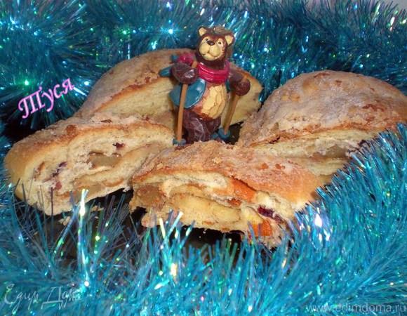 """""""ШТОЛЛЕН"""" - Рождественский хлеб от Ришара Бертине + миндальный крем"""