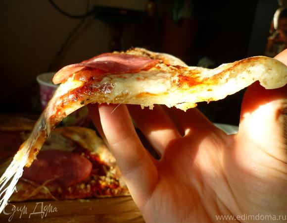 Самая настоящая итальянская и невероятно вкусная пицца