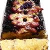 Грушево-черничный кекс «Маленькое черное с кокосом и лавандой»