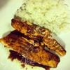 Филе лосося в маринаде с наршарабом