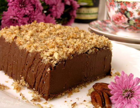Итальянский шоколадный десерт