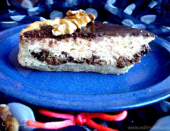 Творожный десерт с лимоном и шоколадом «Кабаре»