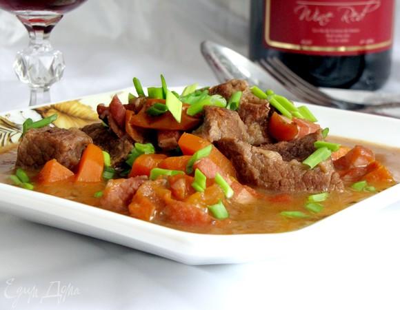 мясо по бургундски рецепт от юлии высоцкой