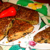 Мужской пирог с грибами