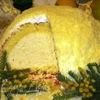 """Цуккотто """"Мимоза"""" с лимонным муссом"""