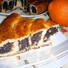 Маковый пирог-спиралька