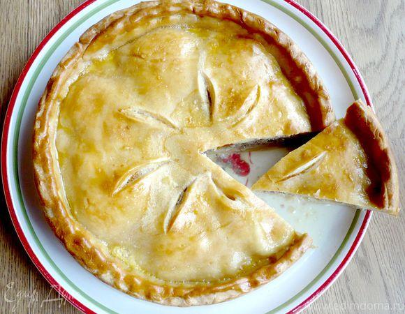 Пирог с мясом «Неожиданная встреча, или чита Маргарита»