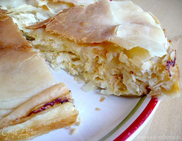 Вкусный до неприличия пирог с семгой и капустой «Мечта пастуха»