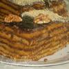 Медовый торт «Ем губами» (без сливочного масла)